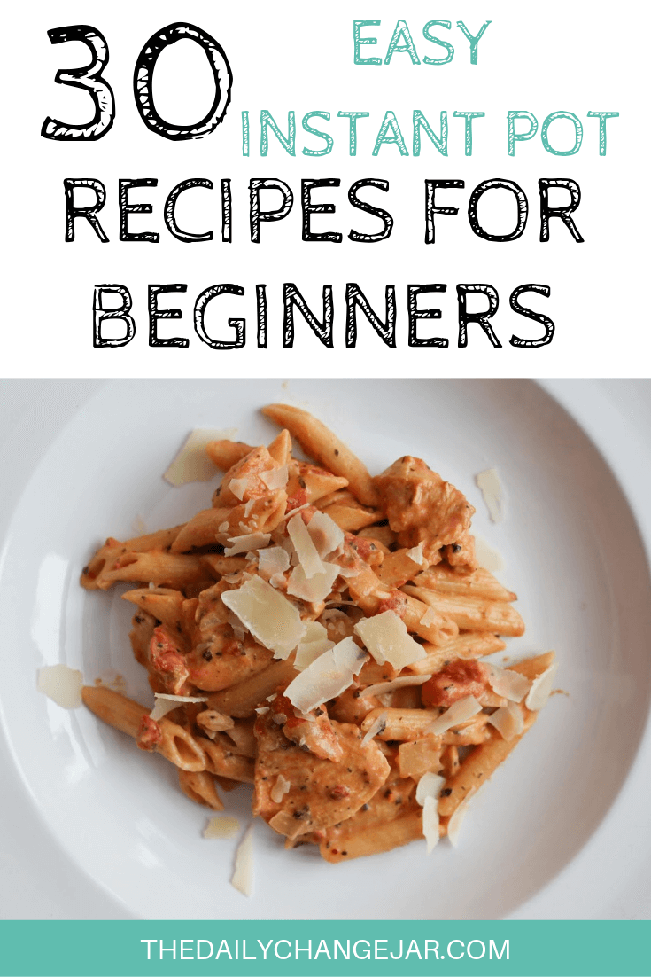 Pressure cooking is such a time-saving cooking method, many households have jumped on the Instapot bandwagon. Are considering (or have already bought) a pressure cooker? Click here to see all 30 Instant Pot recipes for beginners to get you started cooking like a pro. #instantpotrecipesforbeginners #instantpot #instantpotrecipes #pressurecooker #pressurecookerrecipes #instantpotchicken #instantpotchickenrecipes #instapotrecipes #bestinstantpotrecipes #italianchicken